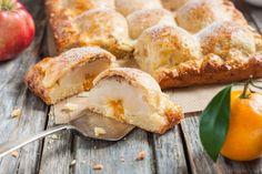 Пирог из творожного теста с яблоками. Рецепт c фото от Seagull 12 ноября 2015 на koolinar.ru