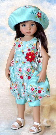 Doll by Dianna Effner American Doll Clothes, Ag Doll Clothes, Doll Clothes Patterns, Clothing Patterns, Pretty Dolls, Cute Dolls, Beautiful Dolls, Girl Dolls, Baby Dolls