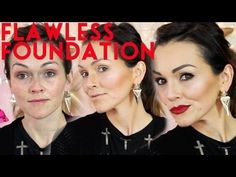 7 Steps to a Flawless Face (Foundation). Kandee has really great tips. Pick and choose which ones suit you : ) {I LOVE Kandee Johnson! Too Faced Foundation, Flawless Foundation, Flawless Face, Face Foundation, Perfect Foundation, Foundation Routine, All Things Beauty, Beauty Make Up, Diy Beauty