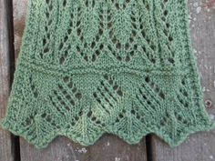 Ravelry: Lace for Mary Scarf pattern by Melody Hadley