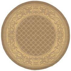 Couristan® Garden Lattice Indoor/Outdoor Round Rug  found at @JCPenney