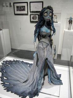 Sneak Preview of the Tim Burton Exhibit at LACMA (74 Photos)