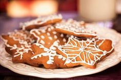 These cut-out cookies are a stand-in for gingerbread. Their sweet cinnamon taste is a nice change from the strong spices often used in holiday cookies.