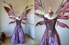 GIANT Kira Iridescent Fairy Wings Ready to Ship by TheFancyFairy