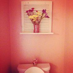 Cute bathroom ideas.