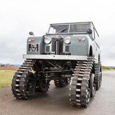 Today on Silodrome.com - The Cuthbertson Tracked Land Rover - @bonhamsmotoring @landrover #landrover #british #offroad #cars #car #truck #trucks #4x4  via ✨ @padgram ✨(http://dl.padgram.com)