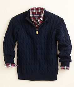 vineyard vines half zip sweaters....love
