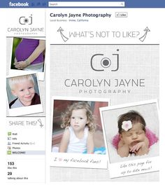 www.candacewilsoncreative.com  #facebook #design