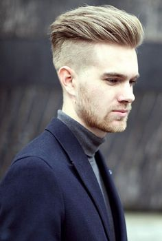 Mens Hairstyles Haircuts Hairstyles 2015 Hair Trends New Best Undercut Hairstyles, Quiff Haircut, Cool Hairstyles For Men, Hairstyles Haircuts, Haircuts For Men, Men Undercut, Blonde Hairstyles, Summer Haircuts, Shaved Hairstyles