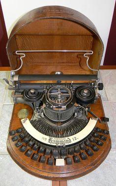 Antique Hammond Nr. 12 Typewriter from 1905 - 1907 #Hammond