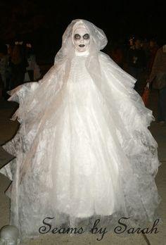 Do it yourself divas diy ghost costume diy diva it pinterest ghost costume solutioingenieria Images