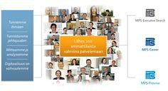 MPS Prewise on osa MPS-Yhtiöitä. Olemme suomalainen, kansainvälisesti toimiva kumppanisi johtamisessa ja strategisissa henkilöstöratkaisuissa! www.mps.fi