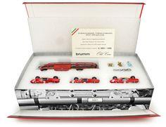 BRUMM Ferrari Renntransporter Set Scuderia Ferrari Grand Prix Italia 1961