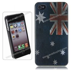 Cheap Fancy National Flag Pattern Plastic Hard Back Case Cover for... via Polyvore