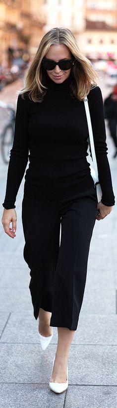 Crisp Black And White / Fashion By Brooklyn Blonde