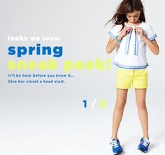 Girls' Looks We Love - Girls' Clothing, Fashion & Apparel - J.Crew  #Crewcuts
