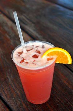 Bahama Mama cocktail.