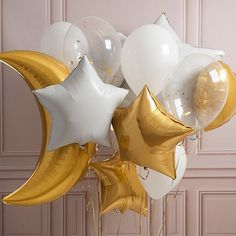 ✨a crazy bunch of beautiful ✨ Available on bubblegumballoons.co.uk #crazybunch #love #gold #bubblegumballoons
