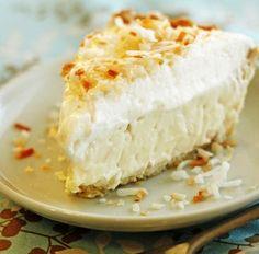 Traditional Coconut Cream Pie!