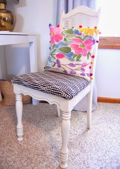 Practically Polished - recovered thrift store chair