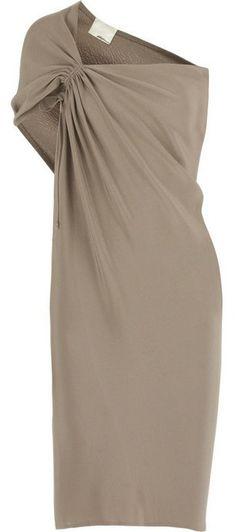 3.1 PHILLIP LIM | Silk asymmetric column dress ($575)