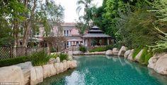 christina aguilera's home