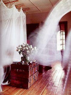 flowy curtains