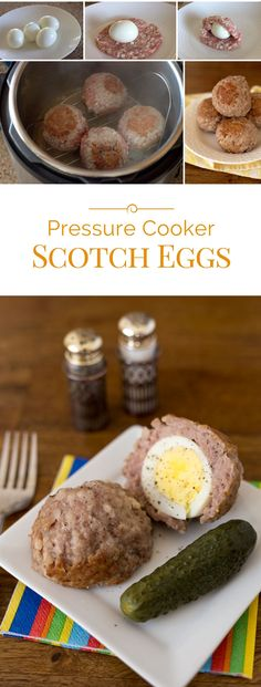 If you're wondering what to do with all those beautiful Easter Eggs you made, how about making Scotch eggs.