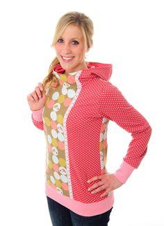 Nähanleitung für einen kuscheligen Hoodie / diy sewing instruction: perfect hoodie, winter by Miou Miou Schnittmuster via DaWanda.com