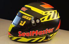 Just Back From Assembly! What Do You Think of Troy Coughlin Jr.'s NHRA Kalitta Motorsports Top Fuel Helmet designed by #NickPastura ? #getfiredup #sealmaster #jegs #helmet