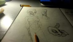 night monster girl  sketch
