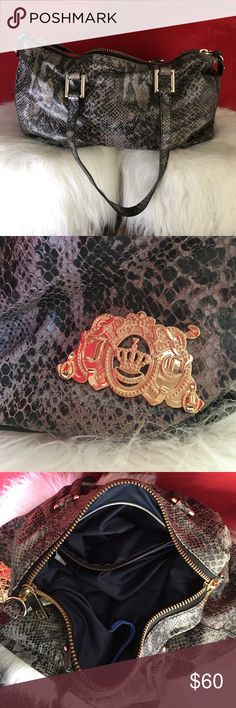 Juicy Couture Purse Snake skin juicy purse Juicy Couture Bags Shoulder Bags