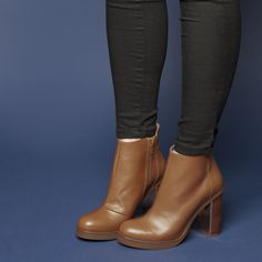 schuh Flash tan ankle boots