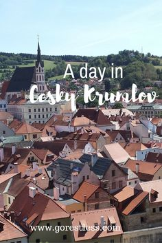 A day in Cesky Krumlov  Cesky Krumlov is a UNESCO Heritage site and has a…