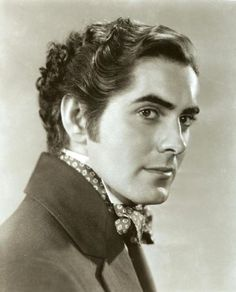 Tyrone Power (actor) - WITHOUT A MOUSTACHE.  AN DIFFERENCE ?  Died November 15, 1958. Born May 5, 1913. The Mark of Zorro, Witness for the Prosecution. Found on:  Remember me??   PersonalFitness3.com