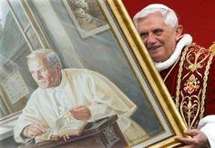 Entrevista a Benedicto XVI sobre Juan Pablo II. Su coraje, santidad y desafíos.