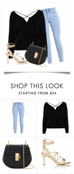"""""""First Date Outfit"""" by stevieweldon ❤ liked on Polyvore featuring River Island, Chloé and Barneys New York"""