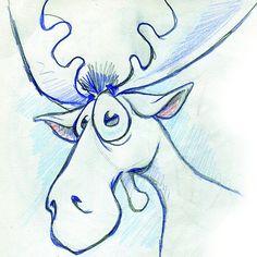 Big eyed moose    #draw #art #drawing #illustration #doodle #pencil #sketch #artwork #sketchbook #painting #artist #pen #cute  #ink #color #portrait #cartoon #watercolor #fun #anime #manga  #myart #comic #paint #character #artistic #animation #comicbook #picture #moose
