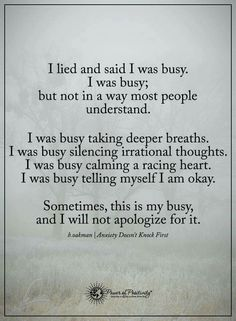 No lie. Perfect truth. #busy