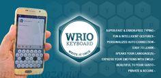 WRIO keyboard Pro Apk v1.2.3 Terbaru Gratis - Satu lagi aplikasi keyboard android yang harus kamu miliki. WRIO keyboard yang dikembangkan oleh icoaching gmbh ini membawa fitur dengan nuansa baru yang lebih unik. Kamu akan mendapatkan beragam kesenangan dengan menginstal aplikasi keyboard ini. Penasaran ? silahkan simak sedikit ulasannya sebelum kamu menginstal WRIO keyboard Pro Apk ini.