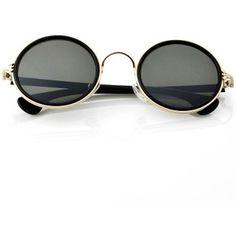 Rodada Sunglasses celebridade Retro Hot