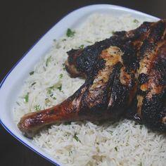 Grilled chicken with Jasmine rice فراخ مشويه مع رز بسمتى الوصفتين جداد بالنسبالى الرز مكانش رز ساده.. الفراخ والتتبيله بتاعتها مكانتش اول مره استخدمها  بالمناسبه الفراخ مش محروقه  #food #chefs #chefslife #Foods #Foodie #cooking #Foodblogger #FoodPhotographer#FoodPhotography #FoodStylist #Foodstagram #FoodGram #FoodGasm #vscofood #Vscodaily #Vscocook #Food_Vsco #Foodoftheday #Onthetable #Wholefood #food52 #f52grams #Feedfeed #Yahoofood #Thekitchn #buzzfeast #buzzfeedfeed #onmytable…