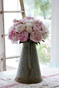 Peony wedding flowers