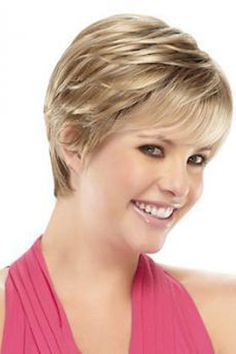 Annette by Jon Renau Wigs- Monofilament/ Lace Front Chic Short Hair, Short Thin Hair, Short Grey Hair, Medium Short Hair, Short Hair Wigs, Short Hair With Layers, Cute Hairstyles For Short Hair, Older Women Hairstyles, Short Hair Cuts For Women