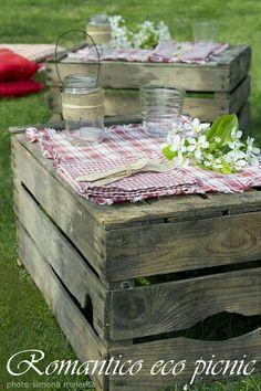 Romantico eco picnic