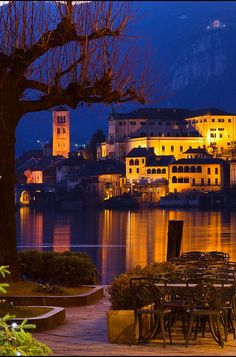 Orta San Giulio lake Orta Piemonte