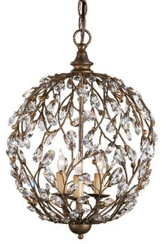 Crystal Bud Sphere Chandelier - Sparkly Chandelier, Lighting, Home Decor | Soft Surroundings