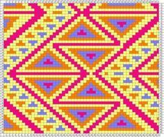 Crochet Pouf, Bag Crochet, Bead Crochet Rope, Crochet Stitches, Granny Square Häkelanleitung, Granny Square Crochet Pattern, Tapestry Crochet Patterns, Tapestry Bag, Chart Design