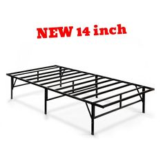 Metal Bed Frame Twin Size Platform Loft Full Steel Strong Sturdy Support Bedroom  | eBay http://www.ebay.co.uk/itm/Metal-Bed-Frame-Twin-Size-Platform-Loft-Full-Steel-Strong-Sturdy-Support-Bedroom-/152697201961?utm_campaign=crowdfire&utm_content=crowdfire&utm_medium=social&utm_source=pinterest