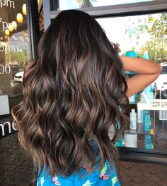 Balayage with a little touch of magic @kimwonton